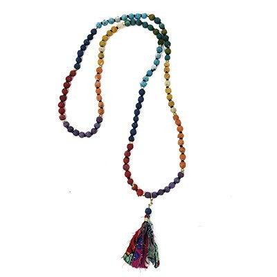 Chakra Tassel Necklace/Bracelet
