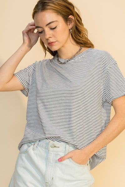 Something about stripes top