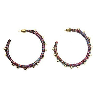 Raja Threaded Ball hoops