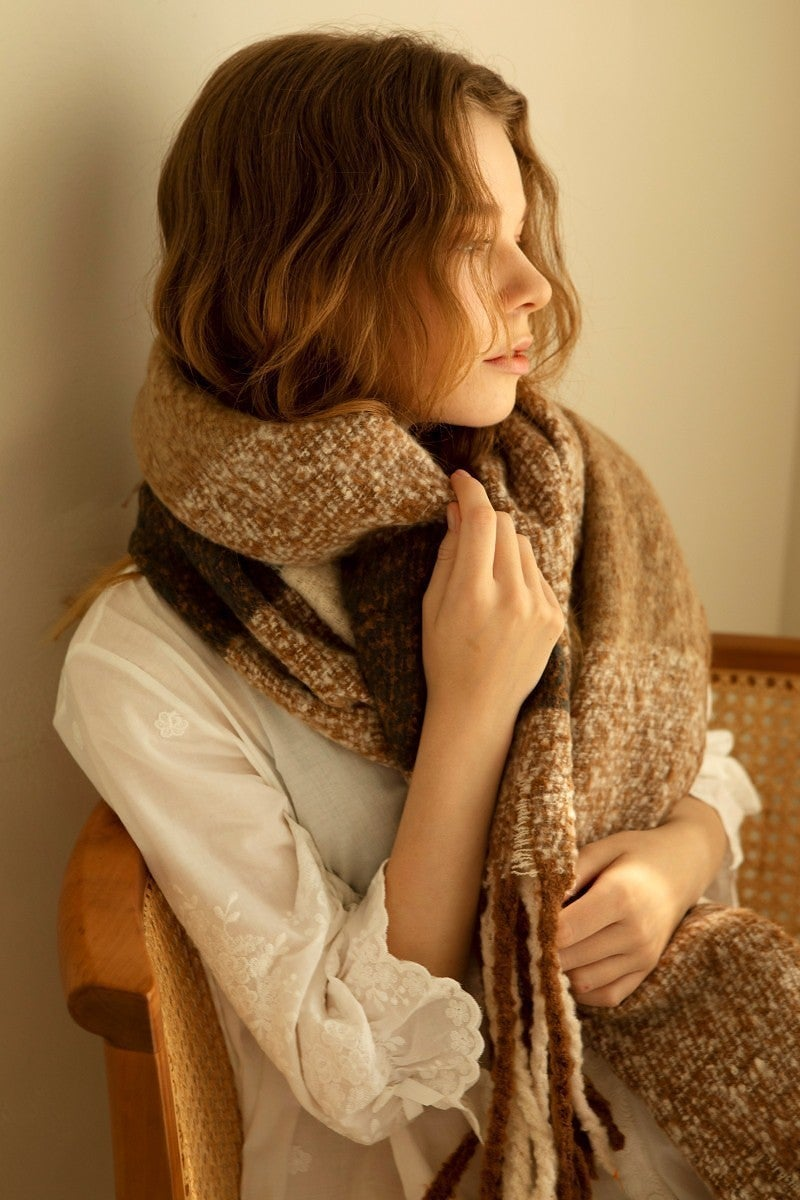Keep in Natural Scarf