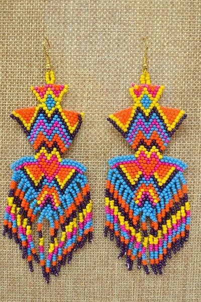 Boho Magic Seed Bead Earrings