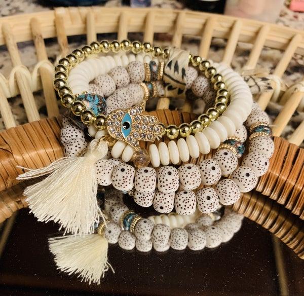 Five Points Cluster Bracelet