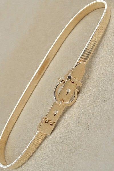 Flexy Gold Belt