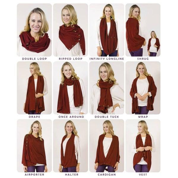Convertible #WrapScarf