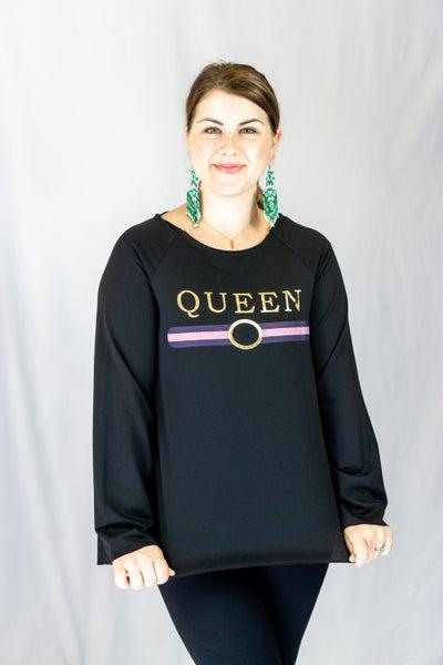 Queen Band Long Sleeve Top
