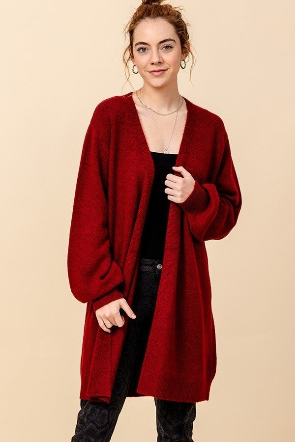 Ruby's are Red Cardigan