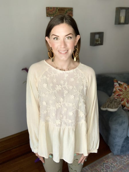Queen's Lace Top