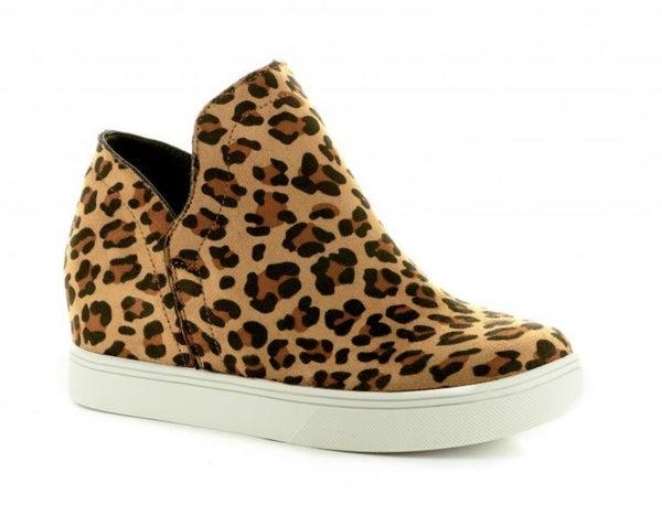 Corky's Jersey Leopard Booties