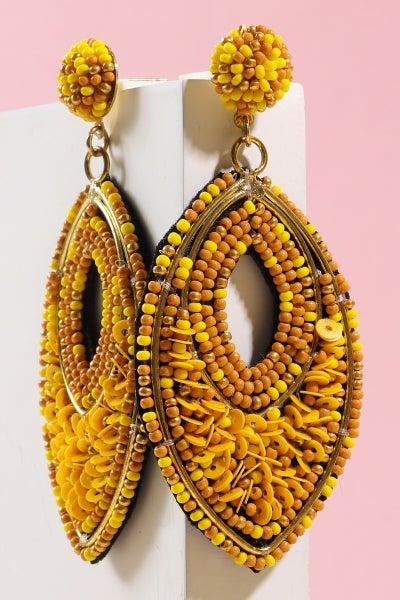 Bead Love Post Earrings