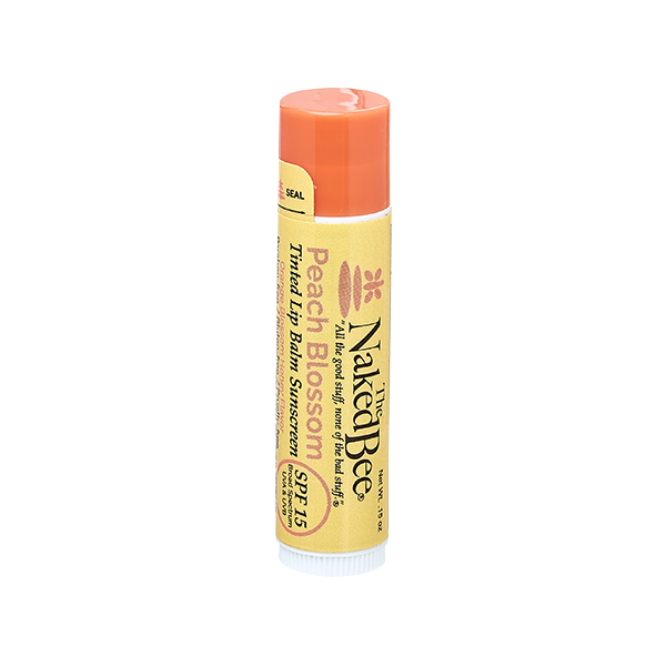 Orange Blossom Honey Tinted Lip Balm in Peach Blossom