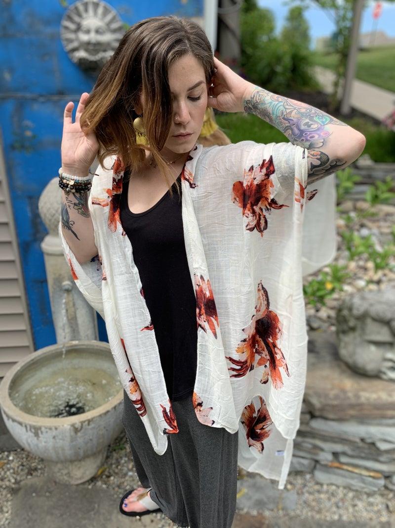 The Aster Kimono