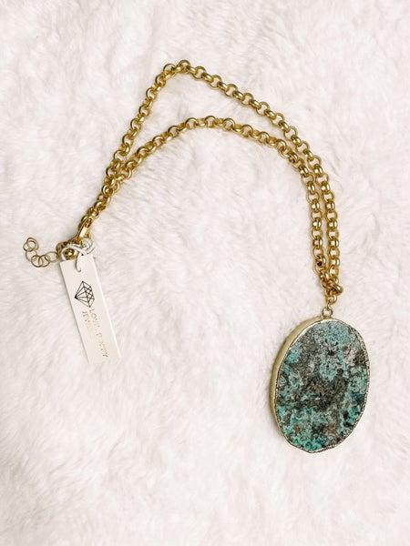 Green Dream Pendant Necklace