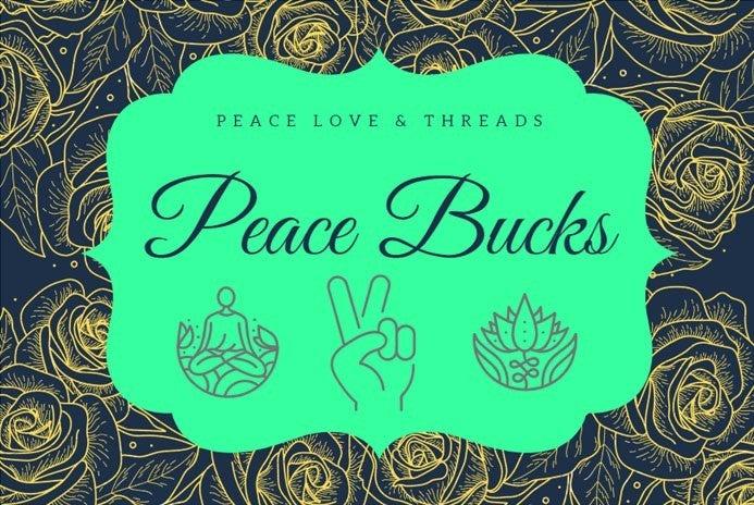 Peace Bucks