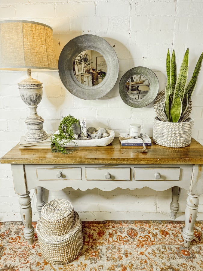 The Double Mirror Entryway Collection