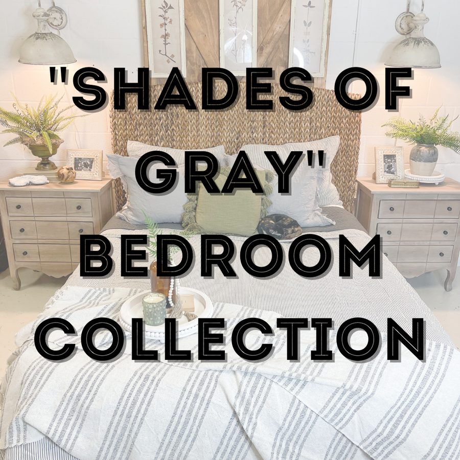 Shades of Gray Bedroom Collection