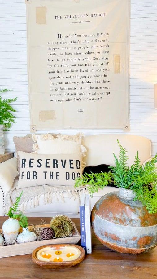 The Velveteen Rabbit Living Room