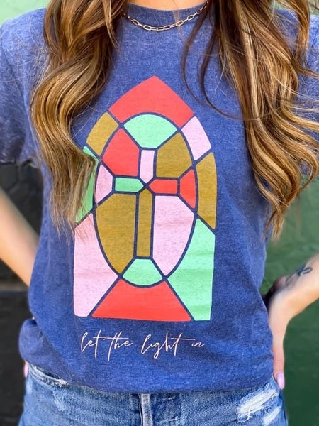 Let The Light In Tee