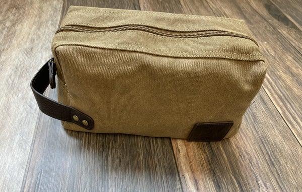 Canvas Dopp Kit Bag