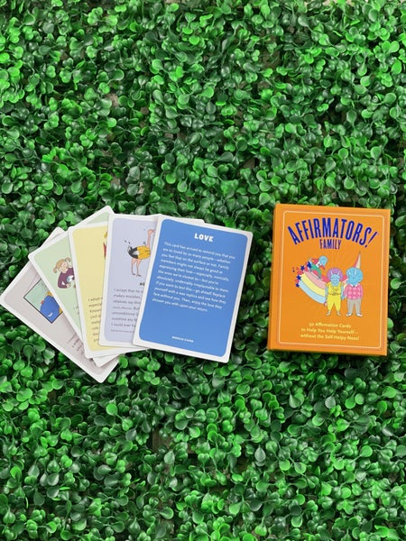 50 Affirmation Cards on Kin of All Kinds