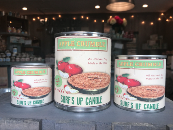 Apple Crumble 1/4 Pint Can Candle