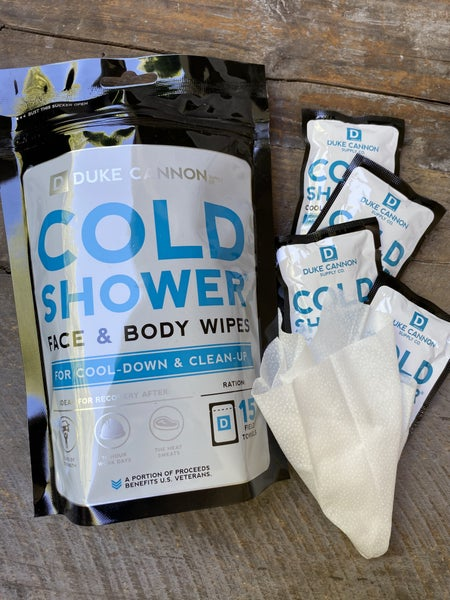 Cold Shower Cooling Individual Pack Field Towels