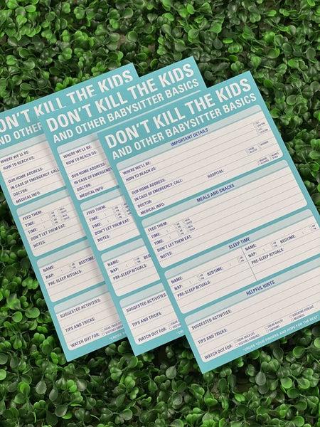 Don't Kill the Kids Pad