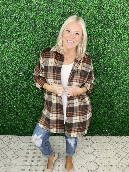 The Percy Flannel Shacket