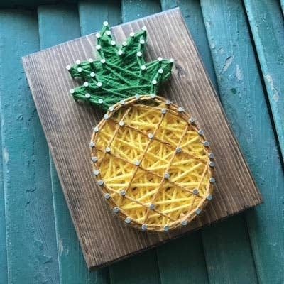 Pineapple String Art Craft Kit