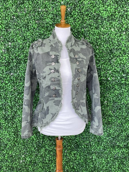 Hot Heather Camo Jacket