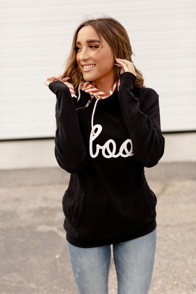 Boo Double Hooded Sweatshirt