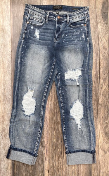 Dallin Distressed Boyfriend Jeans