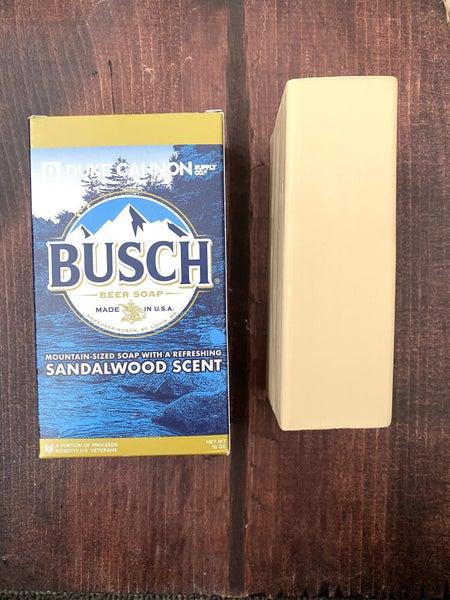 Big Ass Brick of Soap - Busch Beer Soap