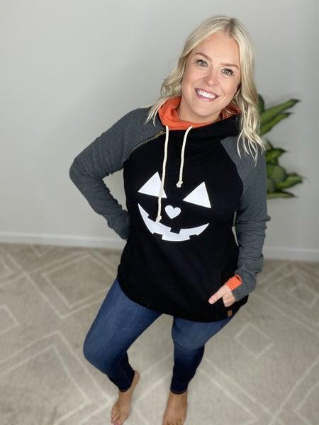 Pumpkin Spice Double Hooded Sweatshirt