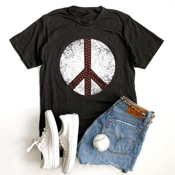 The Peace, Love + Baseball Tee