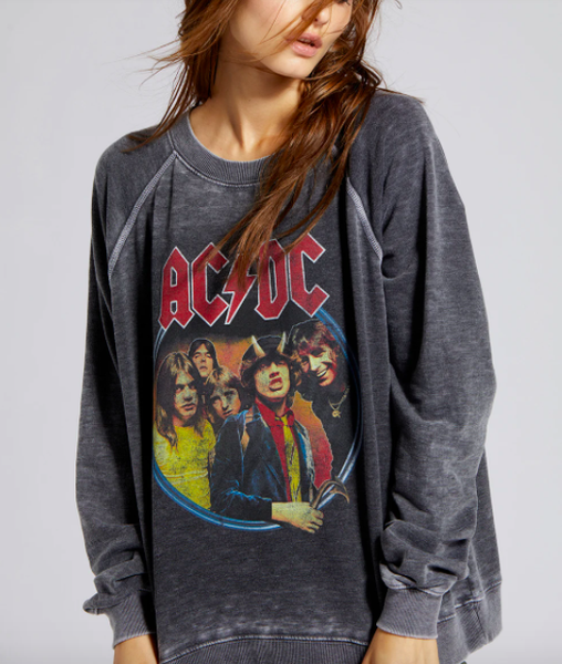 1979 ACDC Tour Burnout Sweatshirt