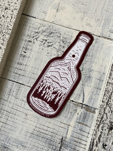 Bottle Vinyl Sticker