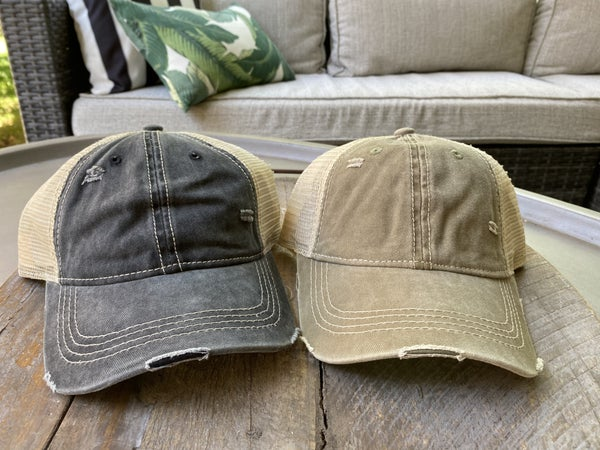 The Simple + Sporty Trucker Hat