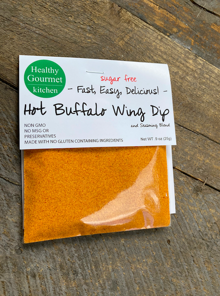 KETO-FRIENDLY: Hot Buffalo Dip Mix