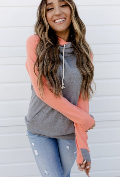 Sedona Basic Double Hooded Sweatshirt