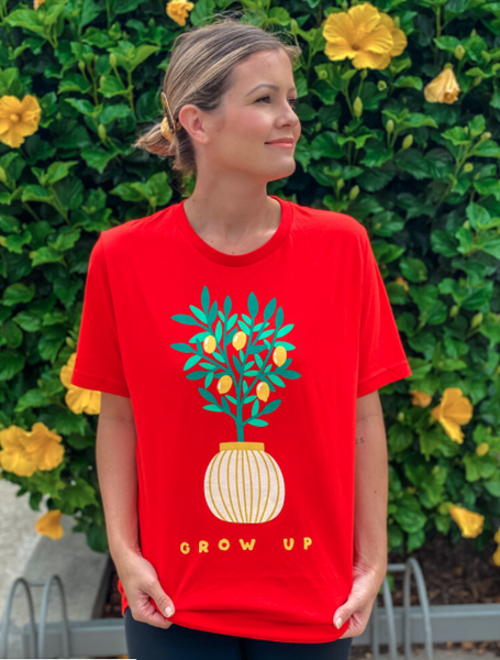 Lemon Grow Up Tee