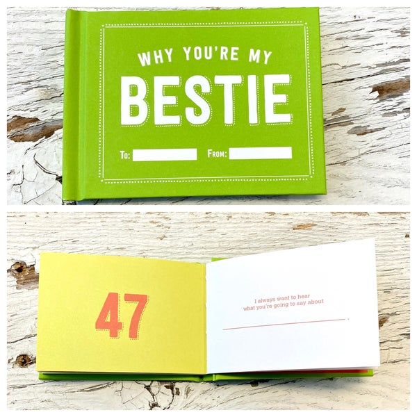 Why You're My Bestie Fill in the Love Book