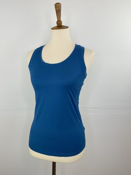 Teal Chill Racerback Athletic Tank