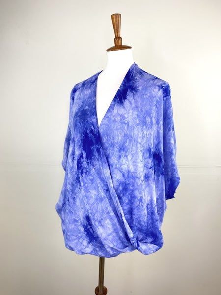 The Twisted Violet Tie Dye Top