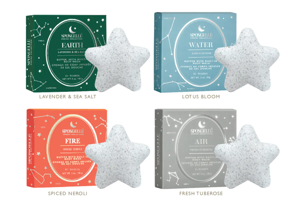 Body Wash Infused Buffer: Zodiac Collection