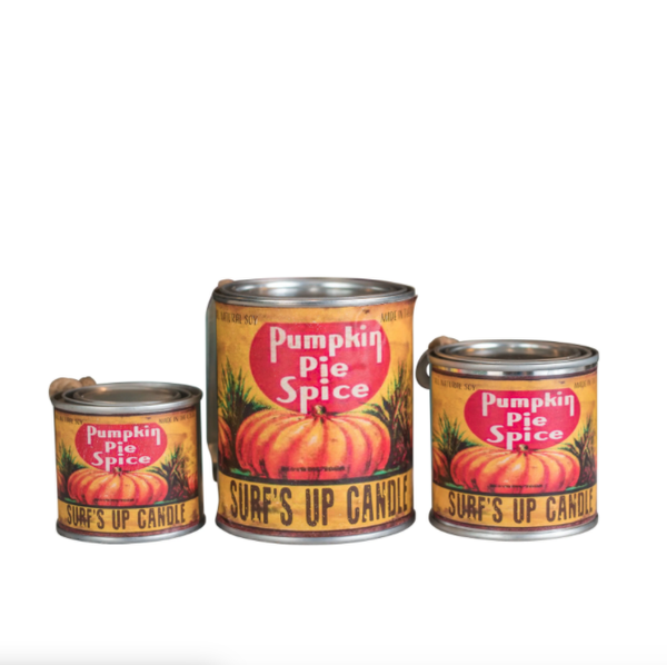 Pumpkin Spice Pint Can Candle