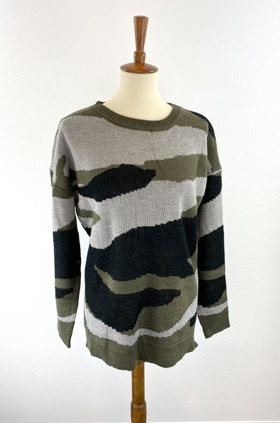 The Angi Camo Sweater