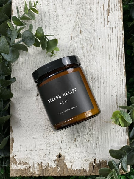 Stress Relief Single Wick Soy Candle
