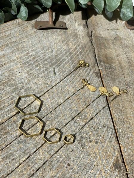 The Hexagon Layering Bracelet