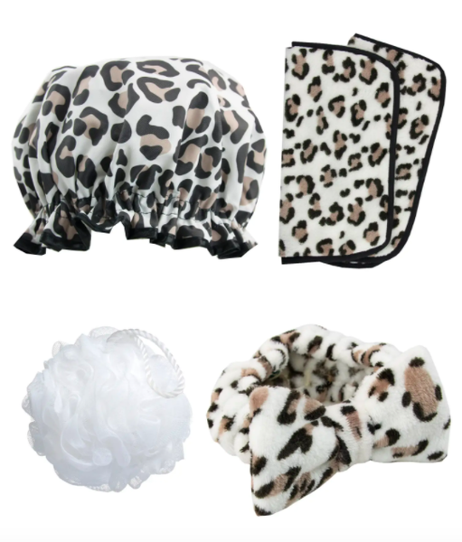 The Leopard Print Totally Pampered Essentials Pack