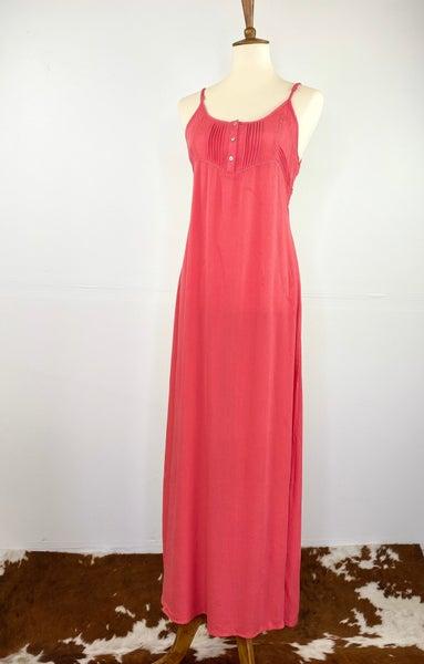 The Watermelon Pink Maxi Dress